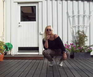 fashion, girl, and sun image