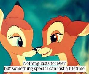 love, bambi, and forever image