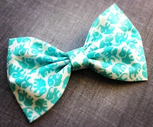 fashion, blue, and bow image