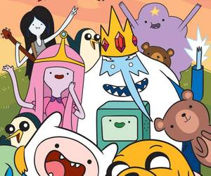 JAKe, finn, and marceline image