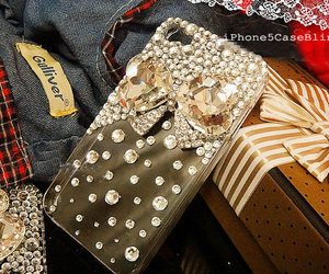 iphone 4 case, iphone 5 bling case, and iphone 5c case image