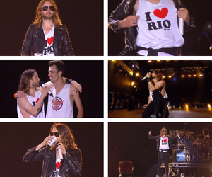 30 seconds to mars, brazil, and hipster image