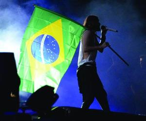 jared leto, 30 seconds to mars, and brazil image