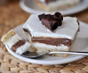 cake, chocolate, and pie image