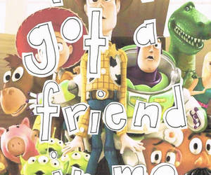 toy story, friends, and quote image
