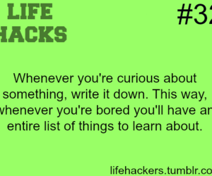 hack, life, and life hackers image