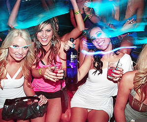 dress, party, and friends image