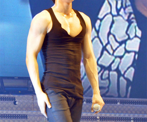 abs, siwon, and Hot image