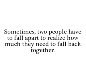 love, quotes, and together image
