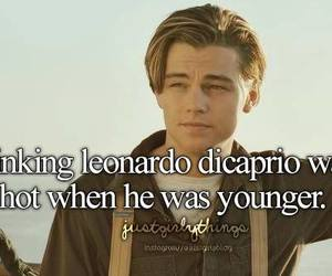 Hot, leonardo dicaprio, and titanic image