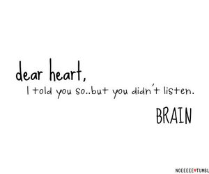 brain, heart, and text image