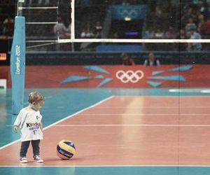 volleyball, baby, and love image
