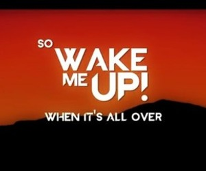 avicii, wake me up, and song image