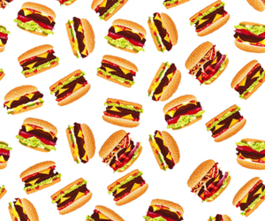 food, background, and burger image