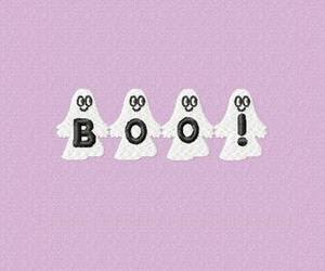 ghost, boo, and pastel image