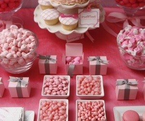 cupcakes, party, and pink image