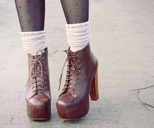 shoes, fashion, and socks image