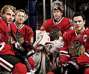 hockey, patrick kane, and jonathan toews image