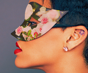 rihanna and mask image