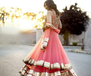 accessories, bollywood, and wedding dress image