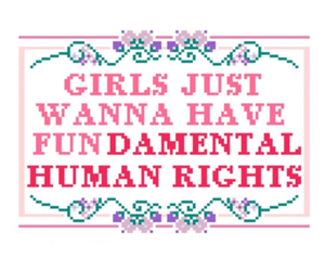 girl, feminism, and equality image