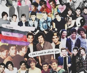 Collage, larry, and the boys image