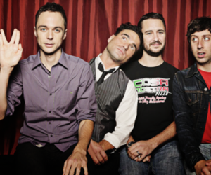 the big bang theory, jim parsons, and sheldon cooper image