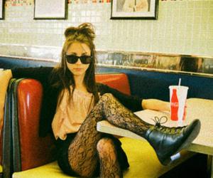 girl and coke image