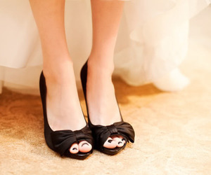 black, shoes, and fiyonk image