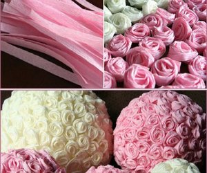 diy, flores, and rose image