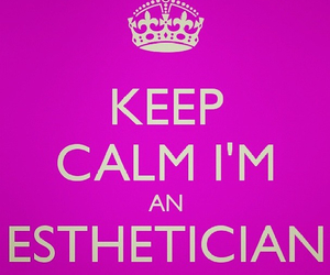 career, keep calm, and beauty therapist image
