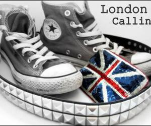 converse, flag, and london image