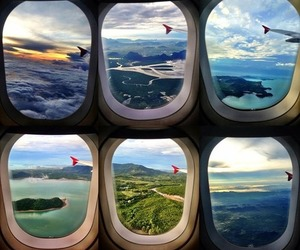 beautiful and airplane image