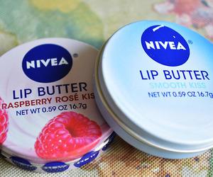 nivea, lip butter, and smooth kiss image