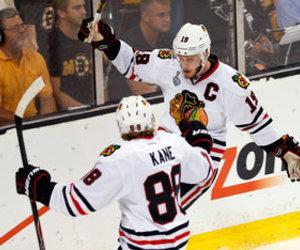 Ice Hockey, blackhawks, and patrick kane image