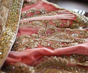 bangles, dress, and pink image