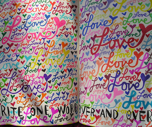 love, colors, and wreck this journal image