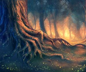 art, nature, and magic image