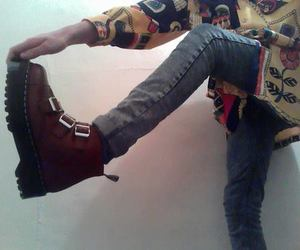 grunge, pale, and boots image