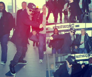 justin bieber and get out beliebers image