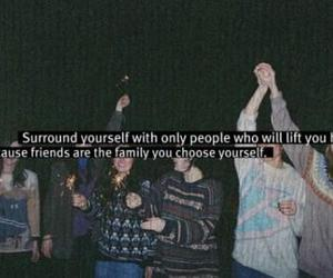 friends, family, and quote image