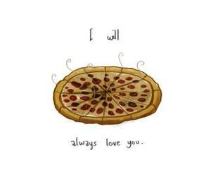 forever, lol, and pizza image