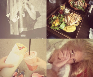 ashley, blond, and food image