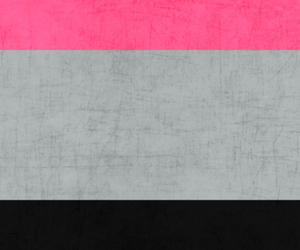 black, grey, and pink image