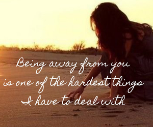 alone, missing you, and quote image