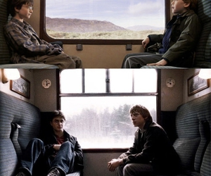 boys, harry potter, and ron weasley image