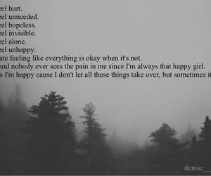 alone, depressed, and hurt image