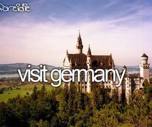 germany, before i die, and visit image