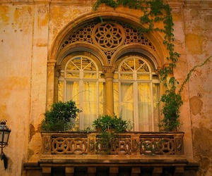 architecture, balcony, and italy image