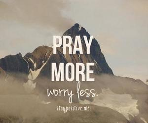 pray and quote image